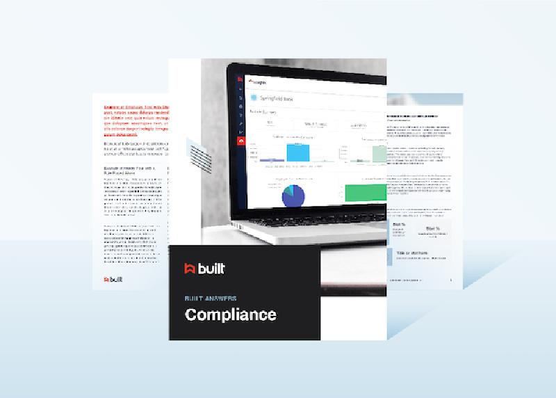 Construction Compliance White Paper