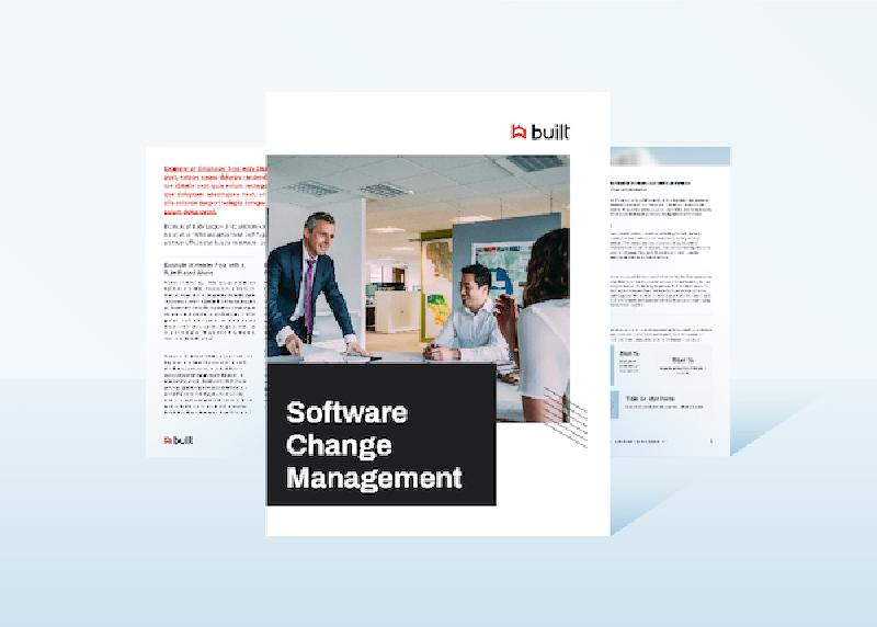 Software Change Management White Paper